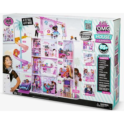 OMG House of Surprises wood doll house 1.22m