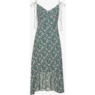 Embry floral-print chiffon midi dress