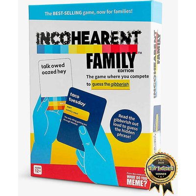 Incohearent Family Edition board game