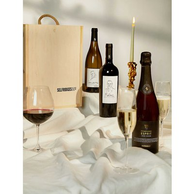 Red, White and Champagne gift box