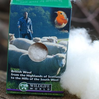 Wool refill - bird nesting material single refill pack