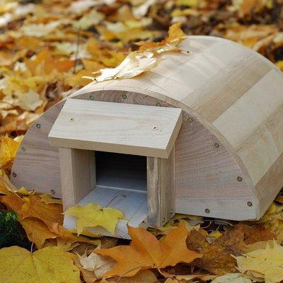 Hedgehog house oak / birch / larch