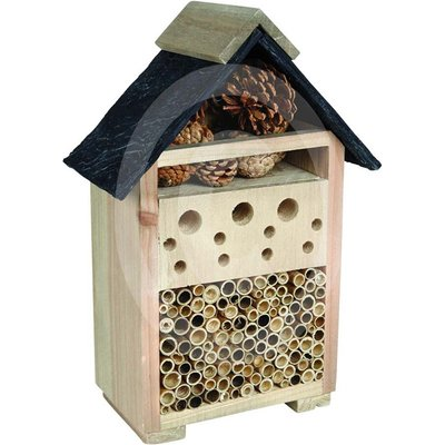 Bee and bug house slate effect roof