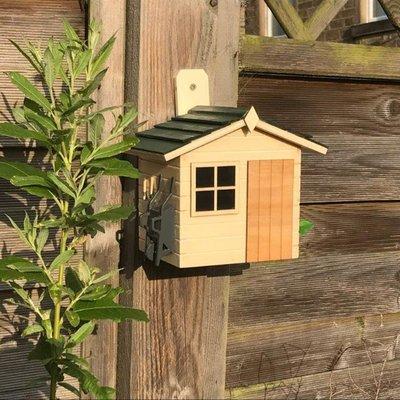 Garden shed birdhouse