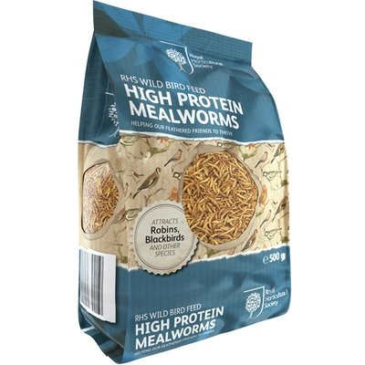 RHS High protein mealworms 500g