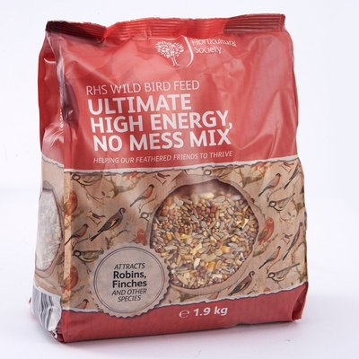 RHS Ultimate high energy no mess bird seed Buy 4 and save