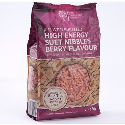 RHS High energy suet nibbles 1kg