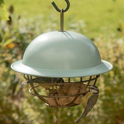 Birdie fat snax feeder ball - eau de nil