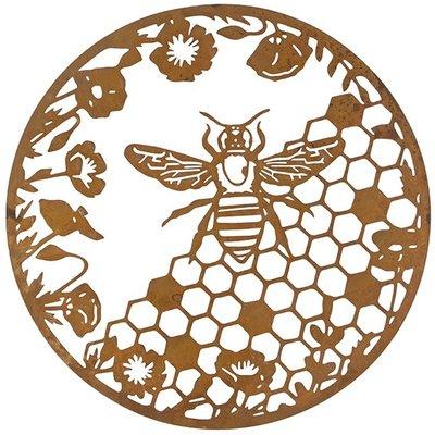 Honeycomb wall plaque