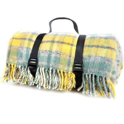 Tweedmill polo picnic rug cottage ocean/grey