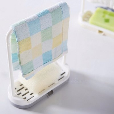 Kitchen Towel Drain Shelf, Sponge Drain Rack Shelves, Kitchen Hanging Storage Rack, Bathroom Soap Di