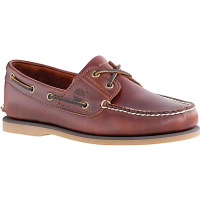 Timberland Leather Boat Shoes, Brown