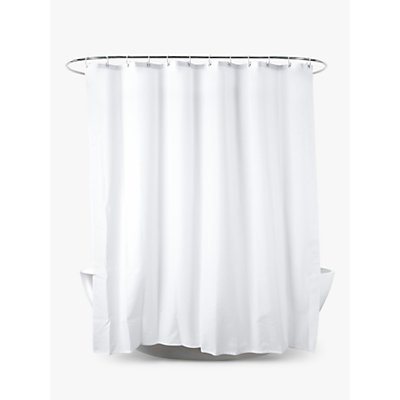 John Lewis   Partners Slub Shower Curtain - 5051505676271