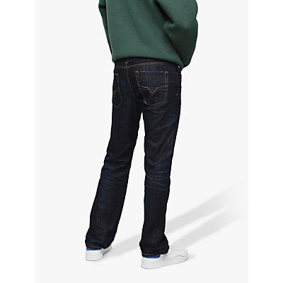 8051195973718 | Diesel Larkee Straight Jeans  Mid Wash 806W