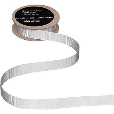 John Lewis   Partners Grosgrain Ribbon  5m - 2.60