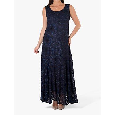 Chesca Cornelli Lace Dress, Navy