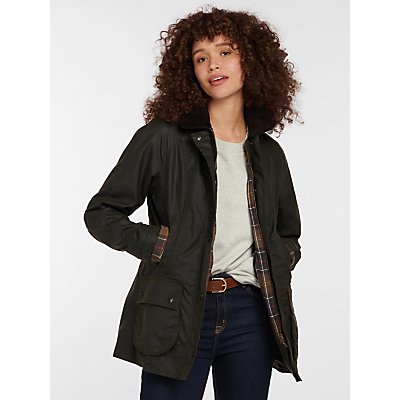 Barbour Classic Beadnell Waxed Jacket  Olive - 888242924137