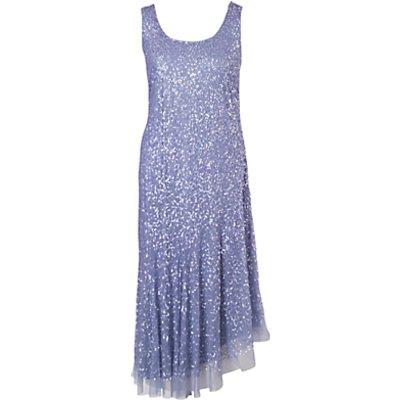 Chesca Matt Vermicelli Dress, Lilac