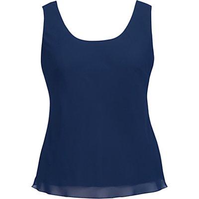 Chesca Chiffon Camisole, Blue