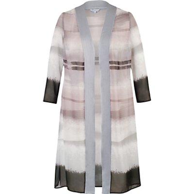 Chesca Mink Satin Trim Coat