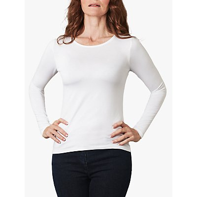 5052265259674 | Pure Collection Soft Jersey Crew Neck Top