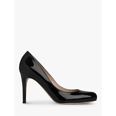 L K  Bennett Stila Patent Leather Court Shoes - 5050923203823