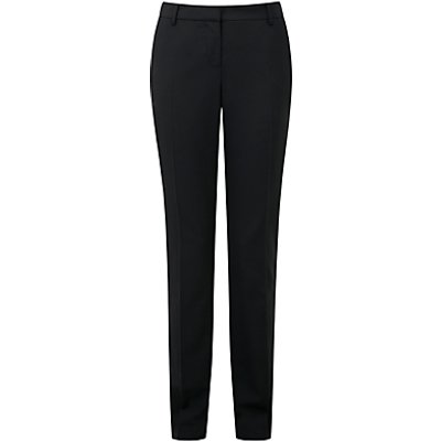 Pure Collection Lana Slim Leg Trousers, Black