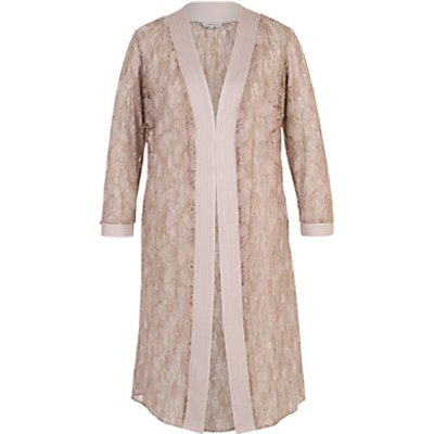 Chesca Floral Embroidered Lace Coat