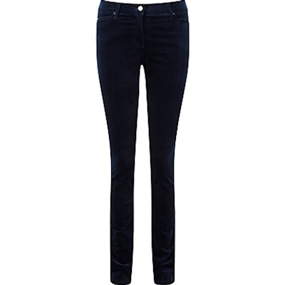 5052265382310 | Pure Collection Athena Wash Velvet Jeans  Midnight