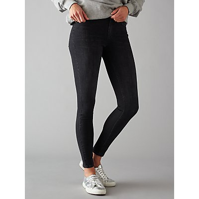 Pieces Five Delly Skinny Jeans  Black - 5713442652458