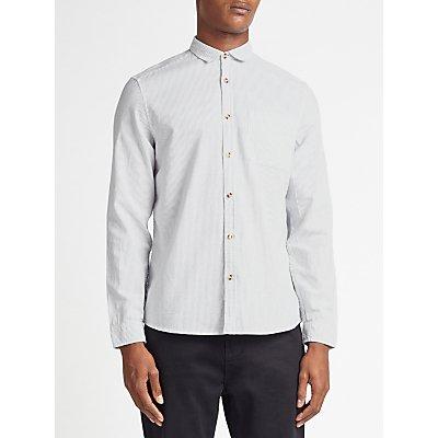 Kin by John Lewis Vertical Fine Stripe Shirt  White - 23306417