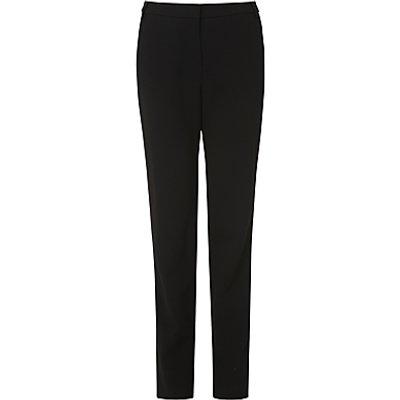 L.K.Bennett Evie Hemmer Trousers, Black