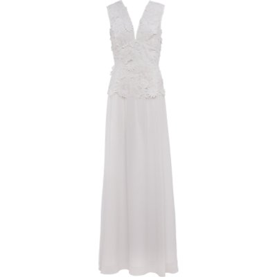 French Connection Manzoni Lace Maxi Dress, Summer White