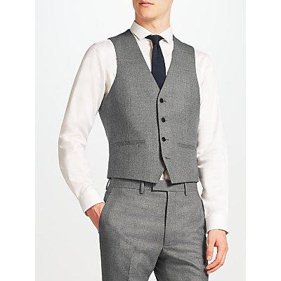 Kin by John Lewis Clifton Slim Fit Waistcoat  Grey - 23394667