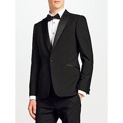 Kin by John Lewis Duckett Slim Fit Dress Suit Jacket  Black - 23393080