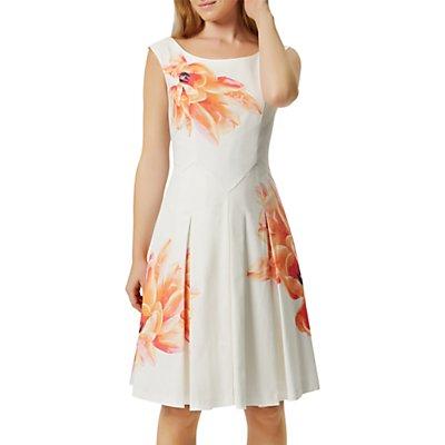 Damsel in a dress Moonlake Prom Dress, Orange/Multi