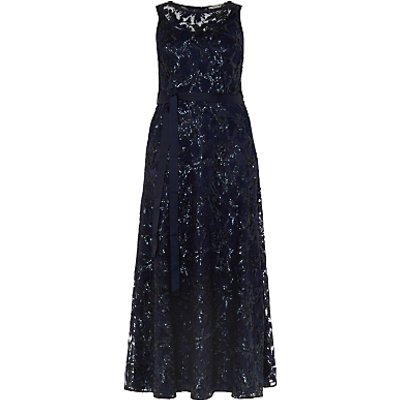 Studio 8 Mercury Maxi Dress, Navy