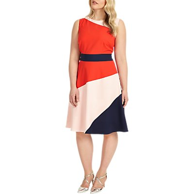 Studio 8 Gabriella Colour Block Dress, Multi