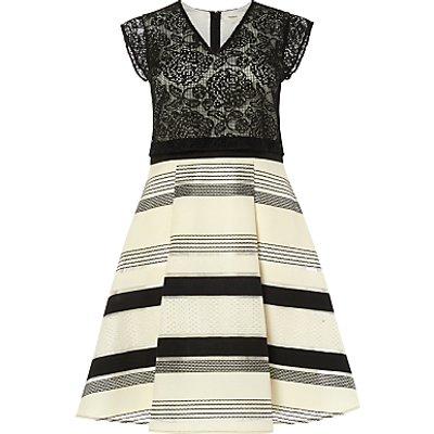 Studio 8 Coco Dress, Black/Ivory