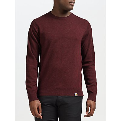 4058459206814 | Carhartt WIP Playoff Knit Jumper  Damson