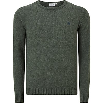 4058459171877 | Carhartt WIP Universaity Knit Jumper  Parsley