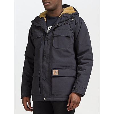 4058459168457 | Carhartt WIP Mentley Parka Jacket  Navy