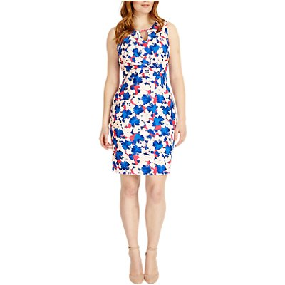 Studio 8 Lorelai Floral Print Dress, Blue