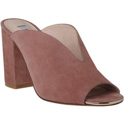 L.K. Bennett Carmela Block Heeled Mule Sandals