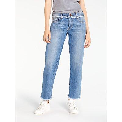 AND OR Los Feliz Fray Jeans  Blue - 23703025