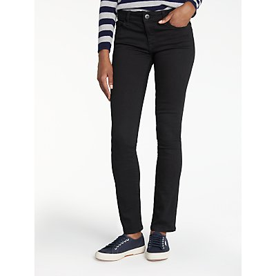 DL1961 Mid Rise Straight Leg Jeans  Night Watch - 888230117848