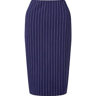 4056255557932 | Marc Cain Pinstripe Stretch Pencil Skirt