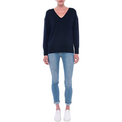 French Connection Della Long Sleeve Jumper  Nocturnal - 889042372463