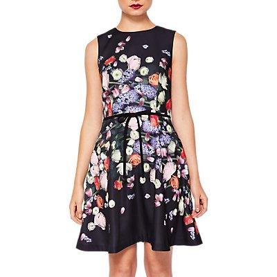 Ted Baker Izobela Kensington Floral Dress  Black Multi - 5054787348201
