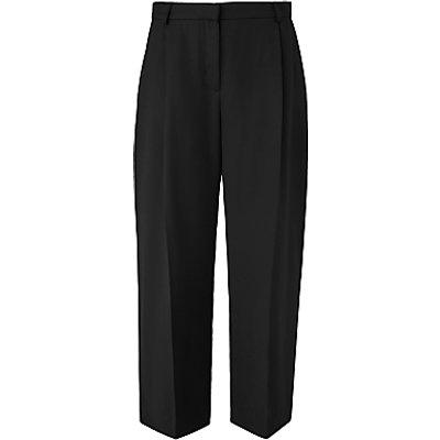 L K  Bennett Elma Cropped Trousers  Black - 5054760289774